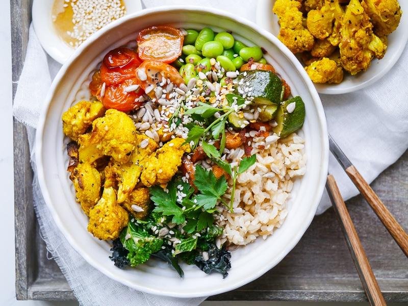 Buddha Bowls for Crohn's Disease